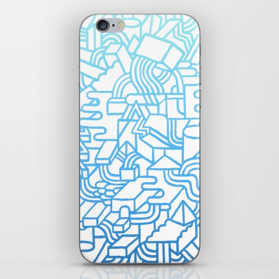 Wave Machine iPhone & iPod Skin