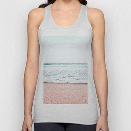 Pastel beach Unisex Tank Top