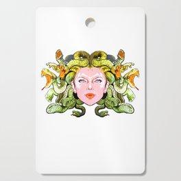 Medusa The Gorgon Cutting Board