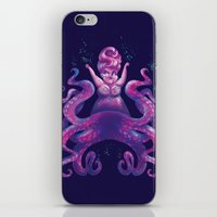 ursula iPhone & iPod Skins featuring Ursula by Bach