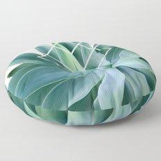 Agave geometrics - peach Floor Pillow