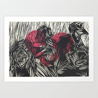 """""""PURPOSE AND DENSITY"""" Art Print"""
