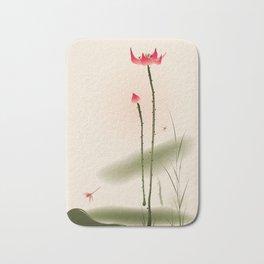 Oriental Lotus 002 Bath Mat