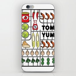 Tom Yum Assembly Kit iPhone Skin