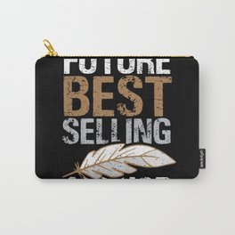 Writer Author Literature Article Blogger Book Carry-All Pouch