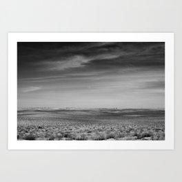 distance (about 5 miles) Art Print