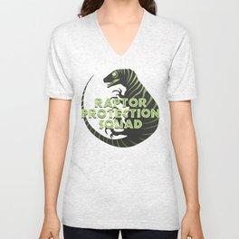 RPS (Raptor Protection Squad) - CHARLIE Unisex V-Neck