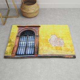 Yellow Window Rug