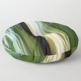 Flora Abstract Floor Pillow