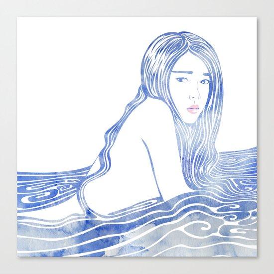 Water Nymph LXXVI Canvas Print