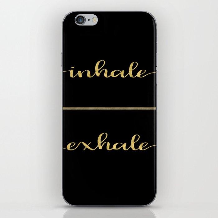 Inhale Greatness iPhone Skin