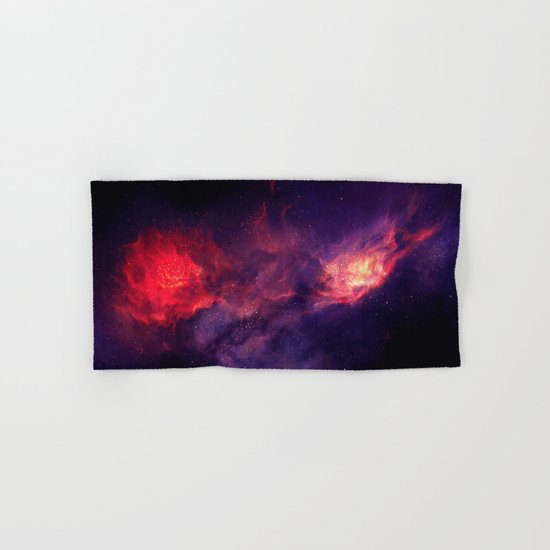 Flames Hand & Bath Towel