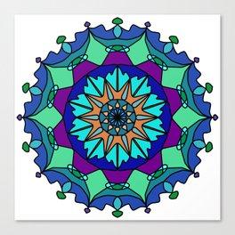 Mandala Eastern pattern Canvas Print