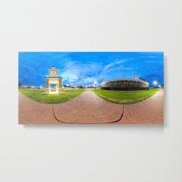Panoramic Railway 360 Metal Print