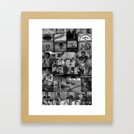 The Protectors of Hollywood Boulevard Framed Art Print