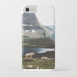 A Walk With The Mountain Goats iPhone Case