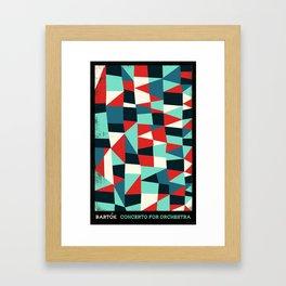 Bartok - Concerto for Orchestra Framed Art Print