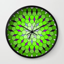 Pentagon Matrix Wall Clock