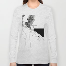 Curly Poems Long Sleeve T-shirt