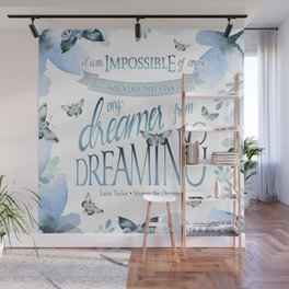 IT WAS IMPOSSIBLE OF COURSE Wall Mural