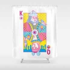 King Of Nothing, Queen Of Nowhere Shower Curtain