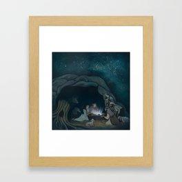 The Great Announcement Framed Art Print