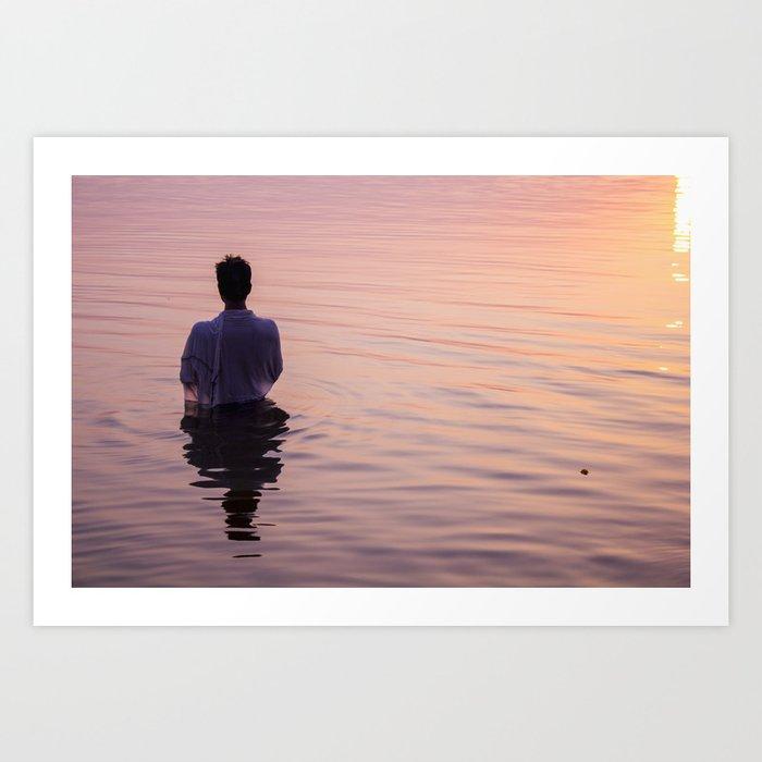Meditation Time Art Print