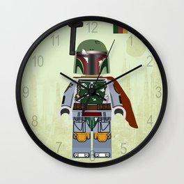 Star.Wars Boba Fett styled Mini Figure Wall Clock