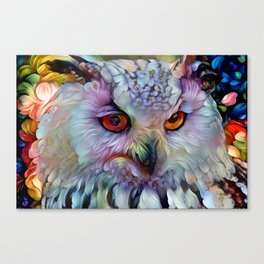 Ethereal Owl Canvas Print