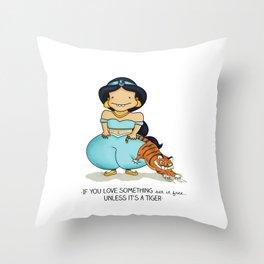 Set it free Throw Pillow
