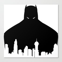 Gotham's Bat-Man Canvas Print