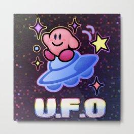Kirby UFO Metal Print