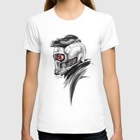 star lord T-shirts featuring Star Lord by Dik Low