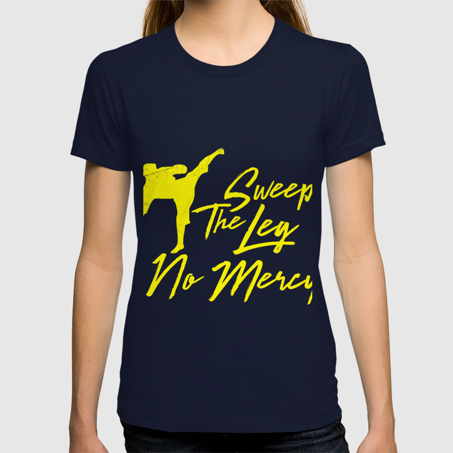 01faa607b Sweep the leg no mercy karate martial arts t shirt T-shirt by wwb | Society6