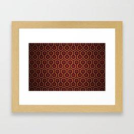 Shining Overlook Carpet Framed Art Print