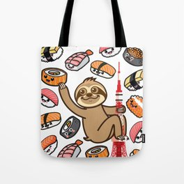 Sloth Sushi Tokyo Tote Bag