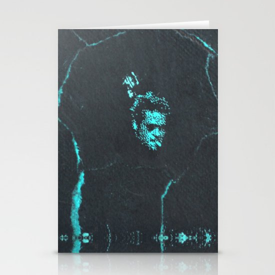 Tyler Durden without the Narrator | Fight Club Stationery Cards