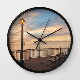 San Francisco Pier Wall Clock