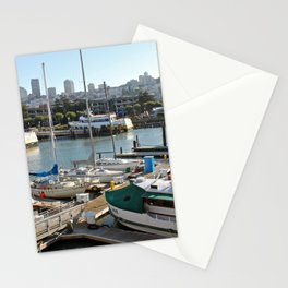 Marinas Of The World (Pt. 5 - San Francisco, California) Stationery Cards