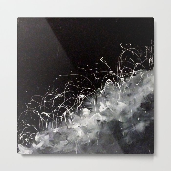Silver Lining Metal Print