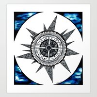 zodiac Art Prints featuring Zodiac  by HaleySayersArt