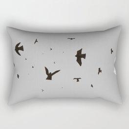 #35 bird in the sky Rectangular Pillow