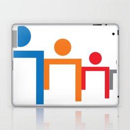 People Head Laptop & iPad Skin