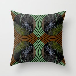 Nature Portals Pattern Throw Pillow