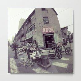 Street Life #2 Metal Print