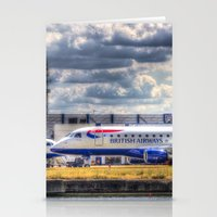 british Stationery Cards featuring British Airways  by David Pyatt