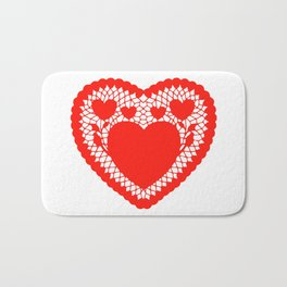 You pull on my heart strings Bath Mat