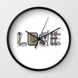 MACHINE LETTERS - LOVE Wall Clock