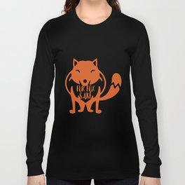 Fur Fox Sake Long Sleeve T-shirt