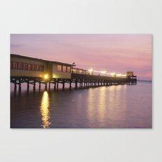Pier 19 - Dusk Canvas Print